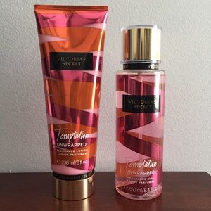 Victoria's Secret Lotion & Fragrance Set - Unused